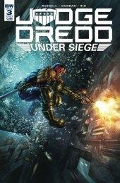 Judge Dredd: Under Siege #3 Cover B Quah