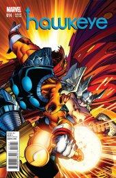 Hawkeye #14 Thor Battle Variant