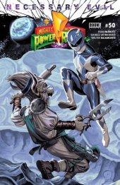 Mighty Morphin Power Rangers #50 Torpedo Comics Exclusive Blue Ranger Variant