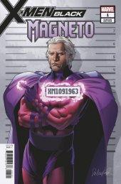 X-Men: Black - Magneto #1 Mugshot (Larroca) Variant
