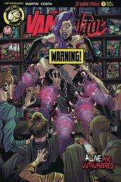 Vampblade: Season 3 #7 Cover B Costa Risque