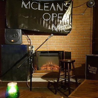 McLean's Open Mic Comedy Night