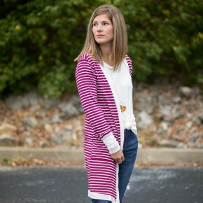 Stripes on Stripes Cardigan