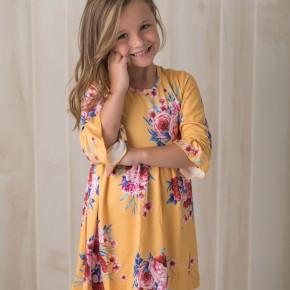 Goldilocks Midi Dress