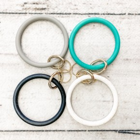 All the Pretty Bangle Keychains