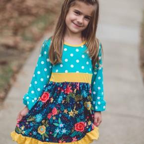 Blue All Over Dress