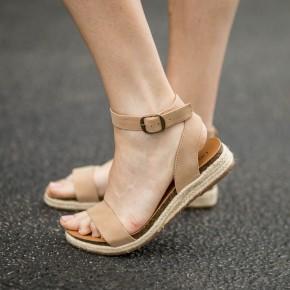 Leslie Platform Sandals