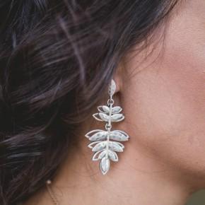 Hanging Leaf Earrings