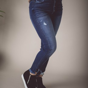 KanCan High Rise Dark Skinny Jean