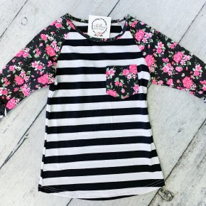 Pretty in Pink Ruffled Top