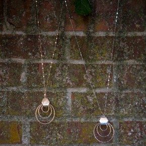 Dancing Rings Necklace