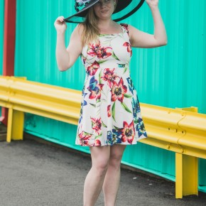 Scalloped Tulip Dress
