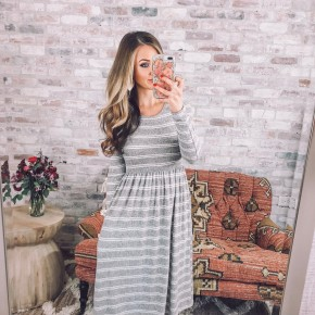 Cloudy Skies Dress..