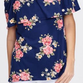 Off the Shoulder Floral Knit Top