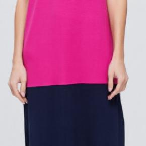 Multi Color Block Knit Dress