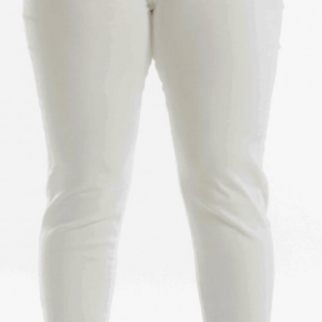 Plus Size White Super High Rise Jeans