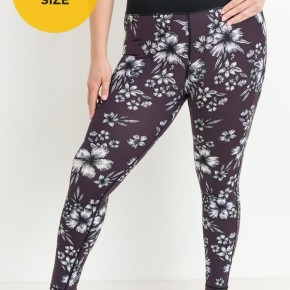 Mono B Hibiscus Leggings