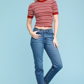 """Judy Blue High Waisted Taper Slim Fit """"Mom Jeans"""""""