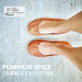 The Storehouse Flats - Pumpkin Spice Shimmer