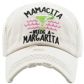 Mamacita Needs A Margarita - Baseball Cap