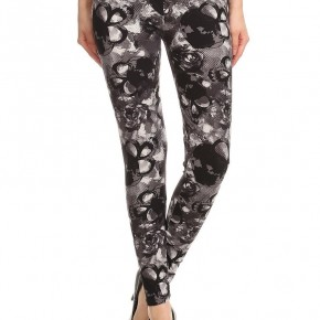 Deathly Hallows Skull Leggings
