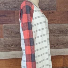 Buffalo Stripe Pullover