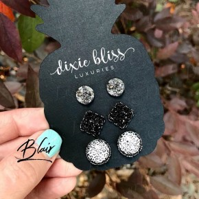 Blair Triple Earring Set