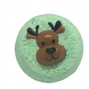 Holiday Bath Bomb w Toy Ring
