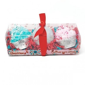 Candy Cane Holiday Bath Bomb Trio