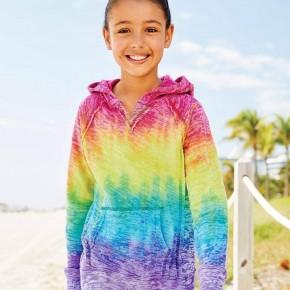 Kid's Rainbow Hoodie