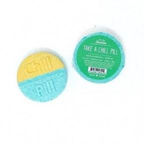Chill Pill Bath Bomb - Cool Mint