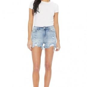 Judy Blue Cut-Off Destroy Shorts
