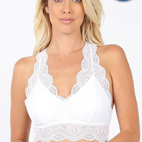 Lace Bralette - White