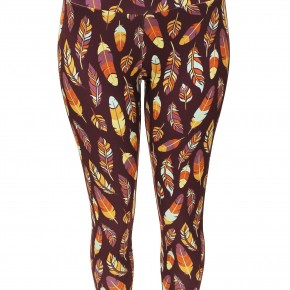 Fall Feather Leggings