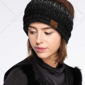 CC Mixed Yarn Ribbed Headwrap