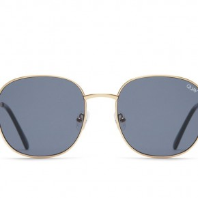 Quay Jezabell Sunglasses - Smoke & Gold