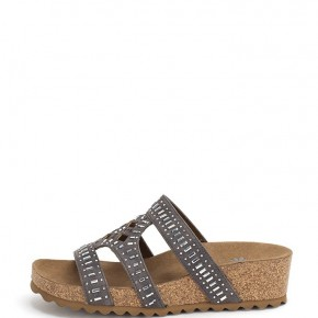 Cecilee Gray Sandals
