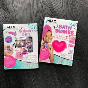 DIY Bubble Bar and Bath Bomb Kits