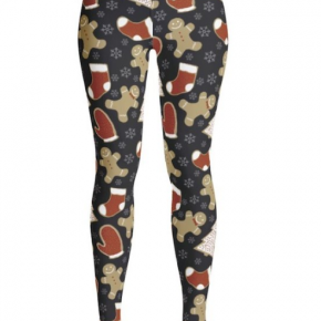 *OS Available* Gingerbread Man Leggings
