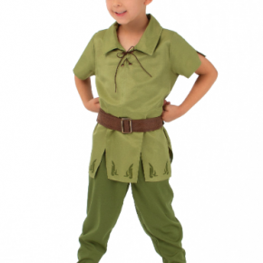 Peter Pan Kids Costume With Hat
