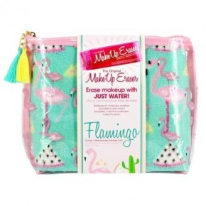 Flamingo Print Makeup Eraser