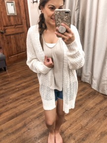Caged Just Right Cardi