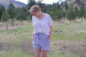 Blue Me Away Shorts