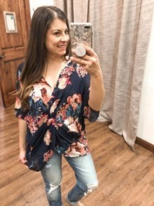 Floral is Best Top