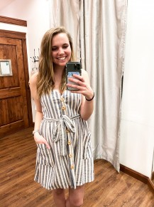 Striped for Summer Dress