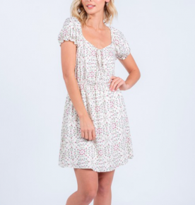 Floral A Day Dress