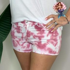 Blush Tie Dye Shorts