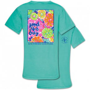 Good Vibes Only Grapefruit Tee