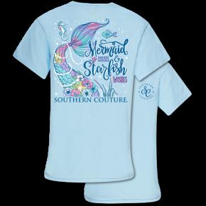 Mermaid Kisses, Starfish Wishes Tee