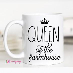 Queen of The Farmhouse Mug